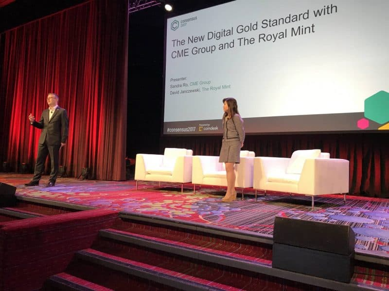 Consensus 2017: CME Group, UK Royal Mint Detail Plans for Blockchain Gold