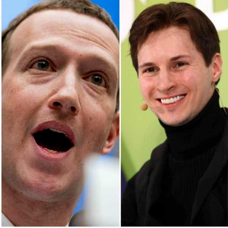 Greedy Facebook Versus Ideological Telegram: Why Principles Matter