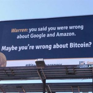 bitcoin in brief saturday warren warned by billboards coinbase tempted by banking 300x300 - Bitcoin in Brief Saturday: Warren Warned By Billboards, Coinbase Tempted by Banking