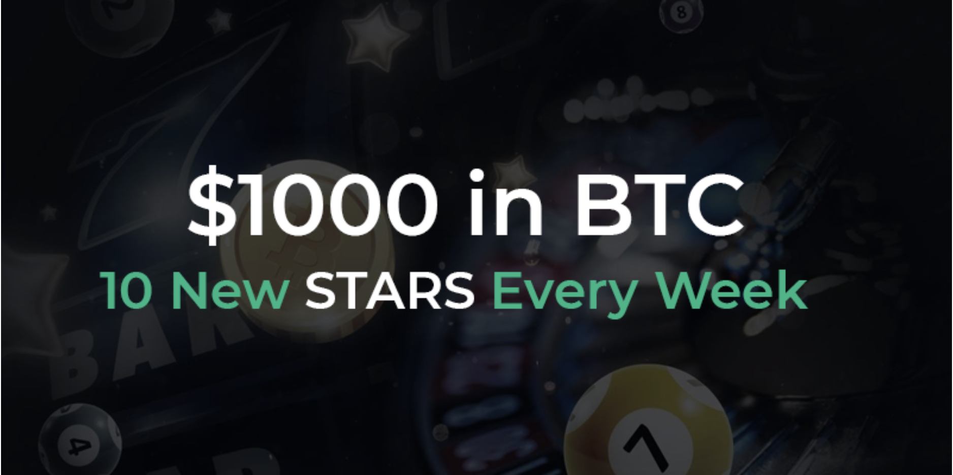 Bitscoins.net Launches Games Stars Leaderboard – Win BTC Every Week
